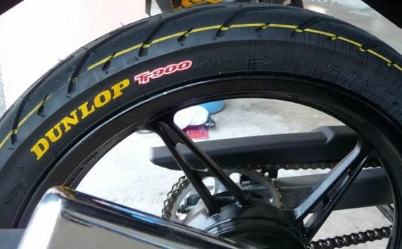 tầm quan trọng của lốp xe máy