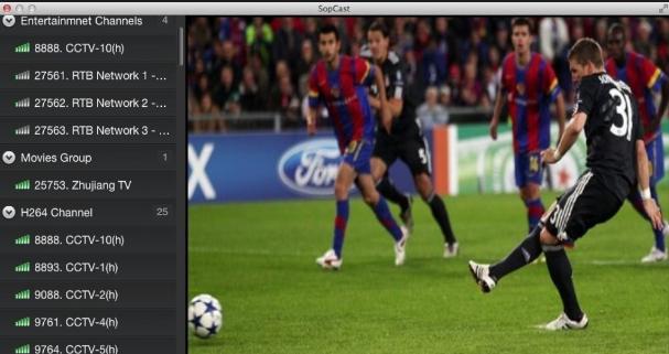 Cách xem bóng đá bằng Sopcast với chất lượng ổn định